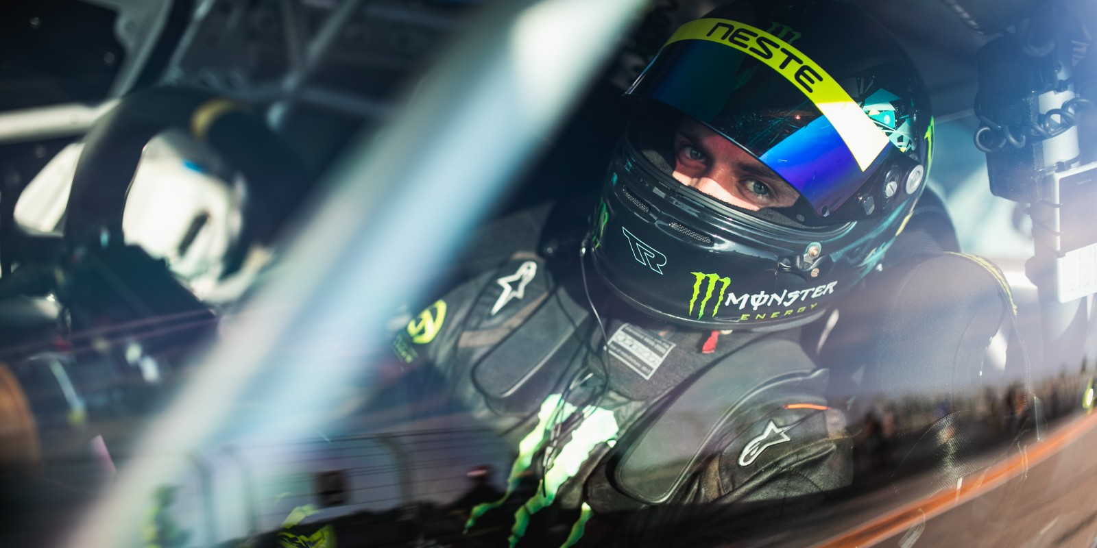 Dream 2 Drive first racing weekend with the new Monster Energy livery