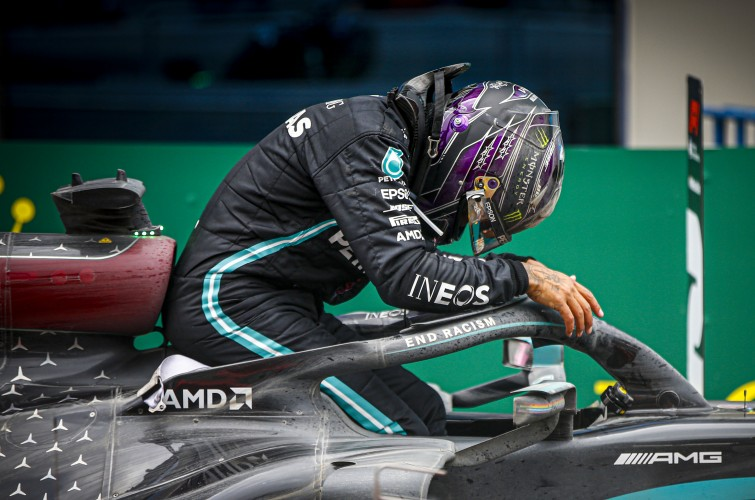 Sunday images from the 2020 F1 Turkish Grand Prix
