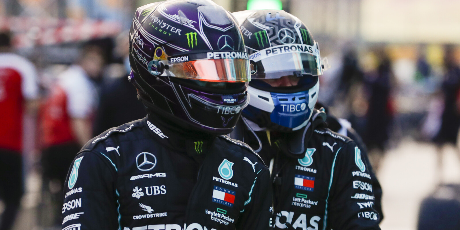 Images from the 2020 Turkish Grand Prix