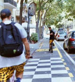 backstage photos from Utopia bmx video project