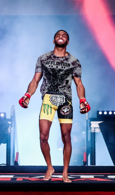 The Bellator iamges of A.J. McKee for Bellator #B228 for Sept 28th live at the Forum in Inglewood.
