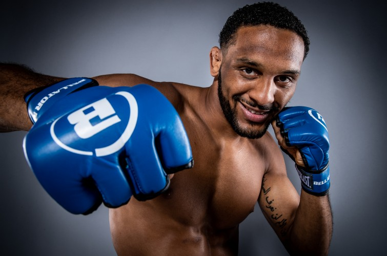 A.J. McKee images from Bellator 253 fight.