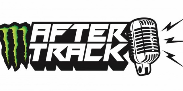Logo for the 2020 FIA World Rallycross Championship 'After Track' Show Fuelled by Monster Energy. See also: https://www.fiaworldrallycross.com/article/10665/new-world-rx-show-launched