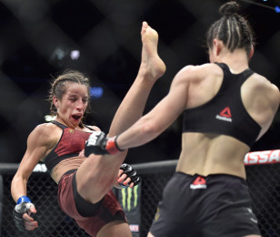 Image taken during UFC 248 at T-Mobile Arena on March 07, 2020 in Las Vegas, Nevada