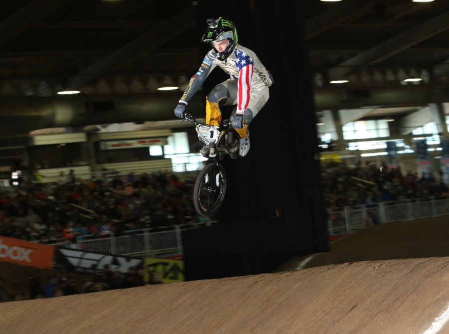 Connor Fields winning USA National Championship in Tulsa, Oklahoma