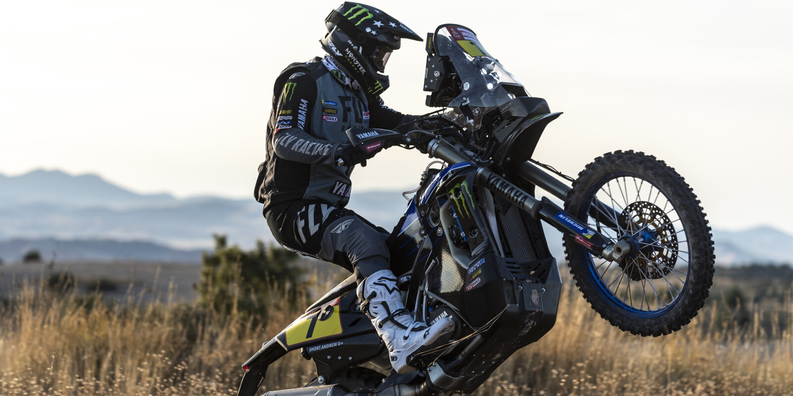 2021 Monster Energy Yamaha Rally Official Team - Pre 2021 Dakar PR Images