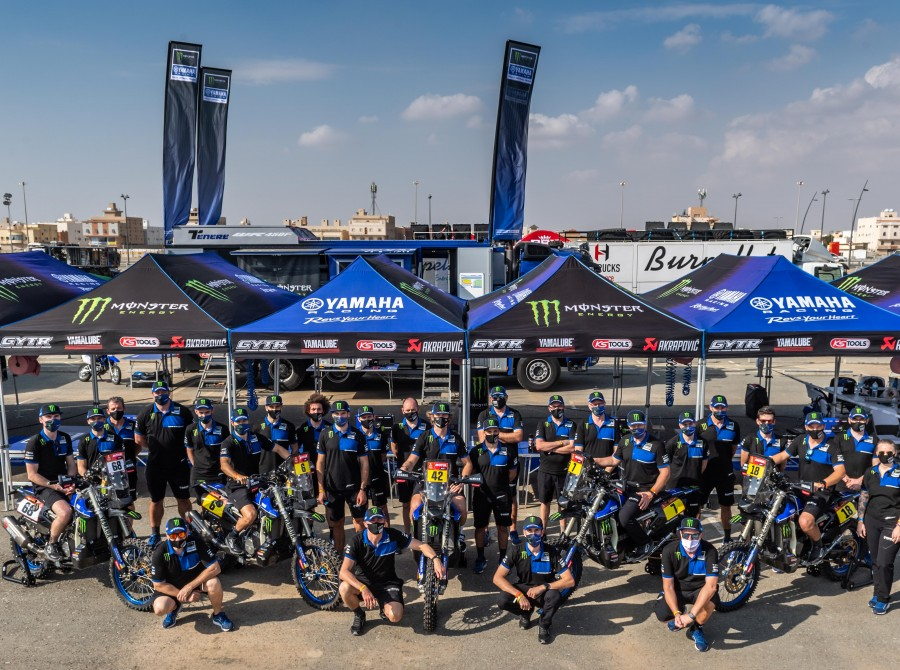 Stage 00 - Prologue - Monster Energy Yamaha Rally Team Images from the 2021 Dakar Rally in Saudi Arabia