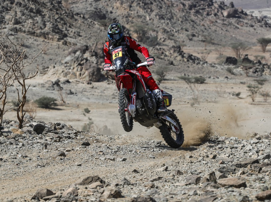 Stage 00 - Prologue - Monster Energy Honda Team Images from the 2021 Dakar Rally in Saudi Arabia