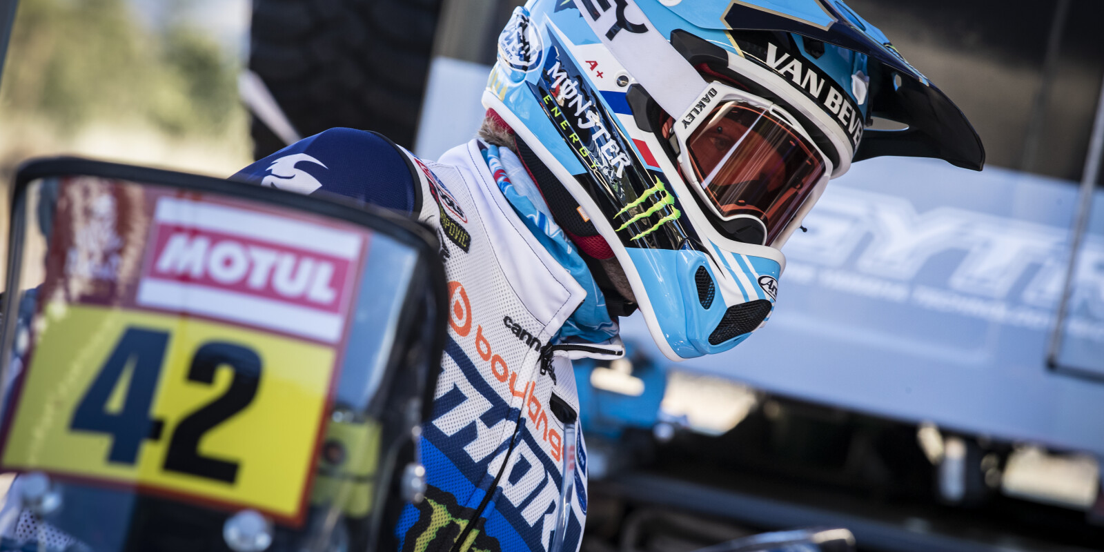 2021 Monster Energy Yamaha Rally Official Team - Pre 2021 Dakar PR Images - Adrien Van Beveren
