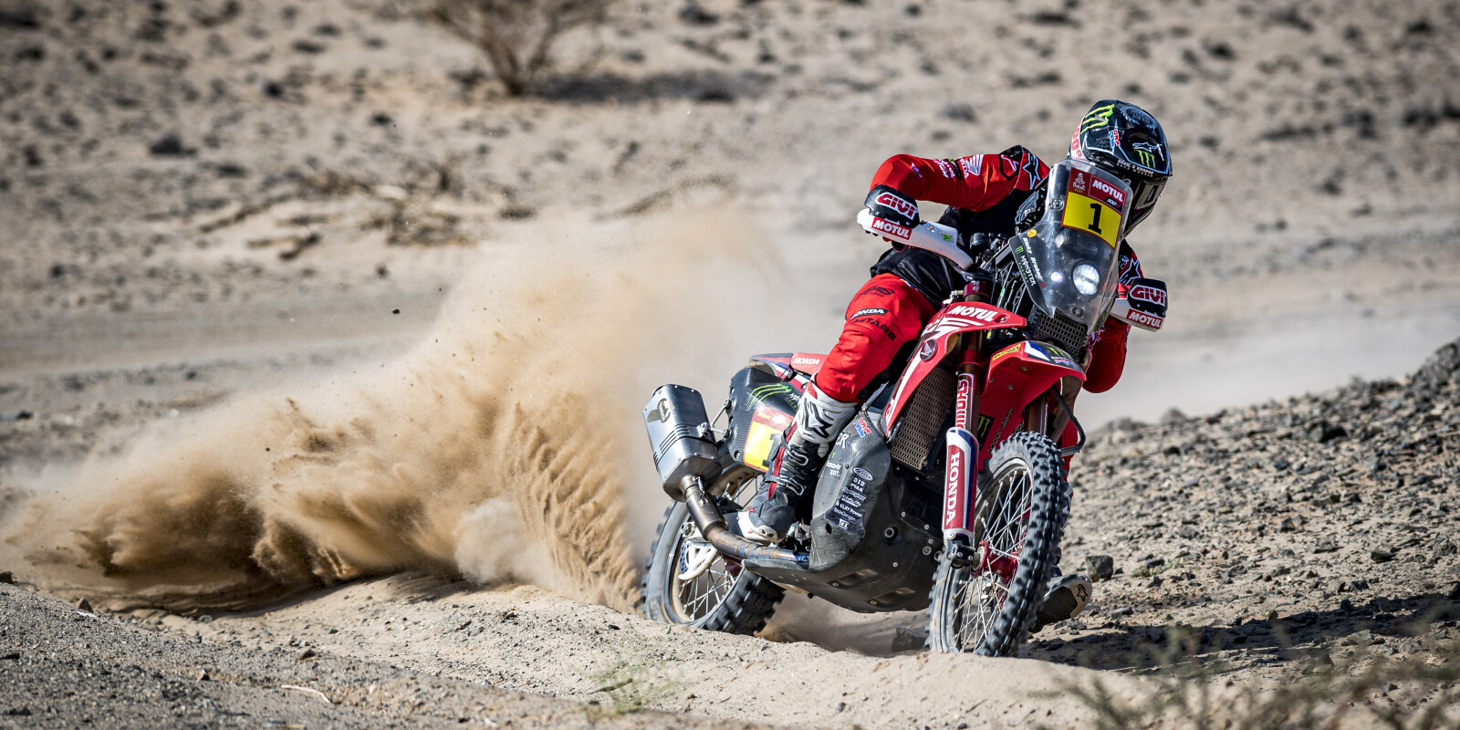 Images from day four / stage 4 at the 2021 Dakar Rally in Saudi Arabia