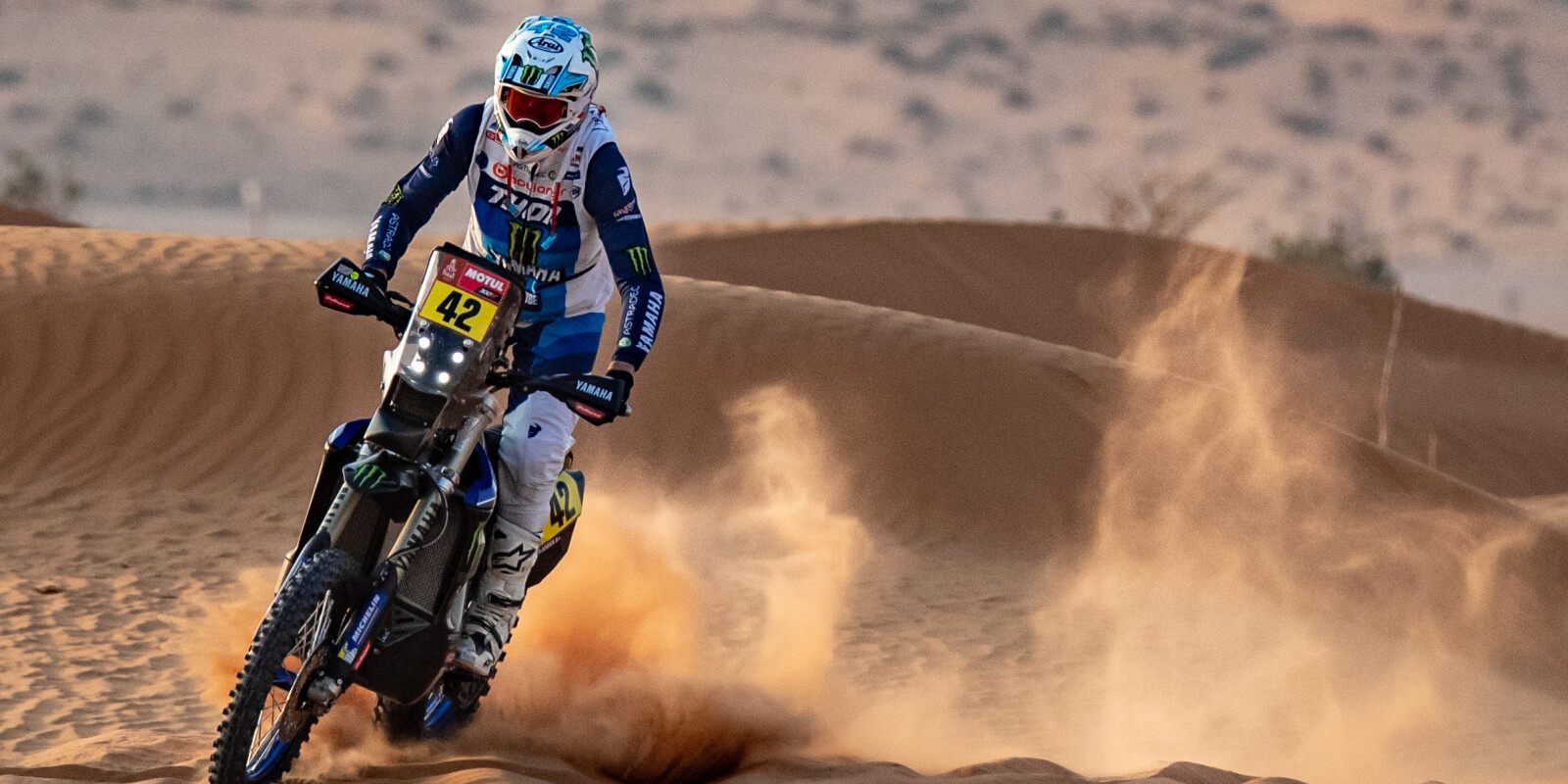 Images from day five / stage 5 at the 2021 Dakar Rally in Saudi Arabia