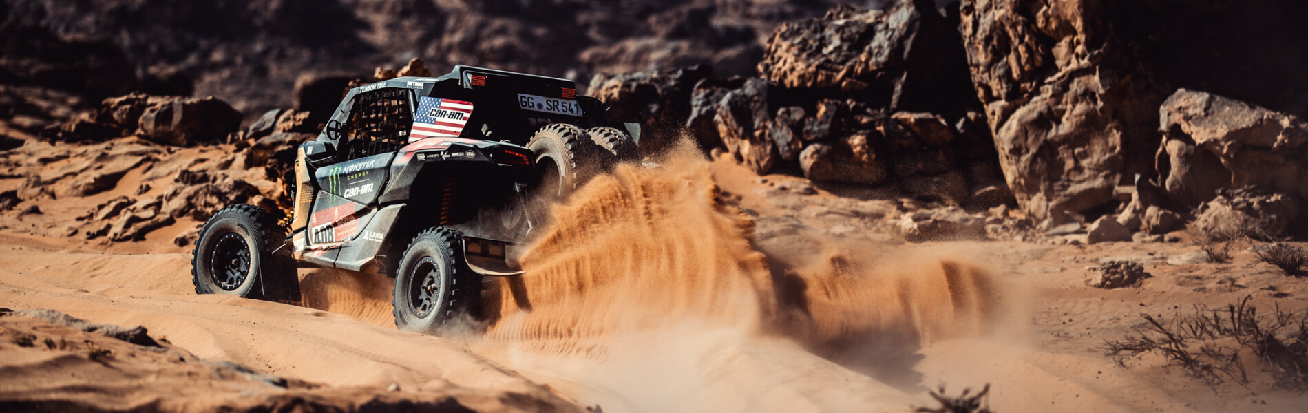 Images from the stage 9 of the 2021 Dakar