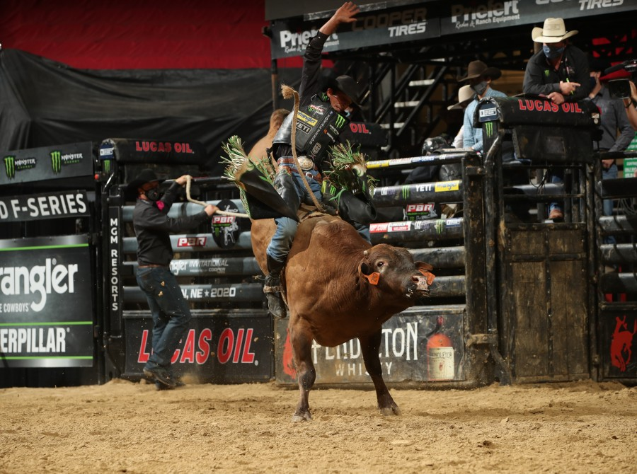 JB Mauney during Unleash the Beast in Lincoln Nebraska.