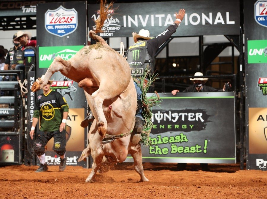 images from the Fort Worth Unleash the Beast PBR.
