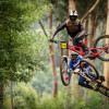 Images from World Cup Lousa 2 - Sunday Race of the UCI World Cup Downhill event.