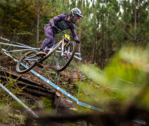 Images from World Cup Lousa #1 - Practice and QualifyingI of the UCI World Cup Downhill Round 4 event.