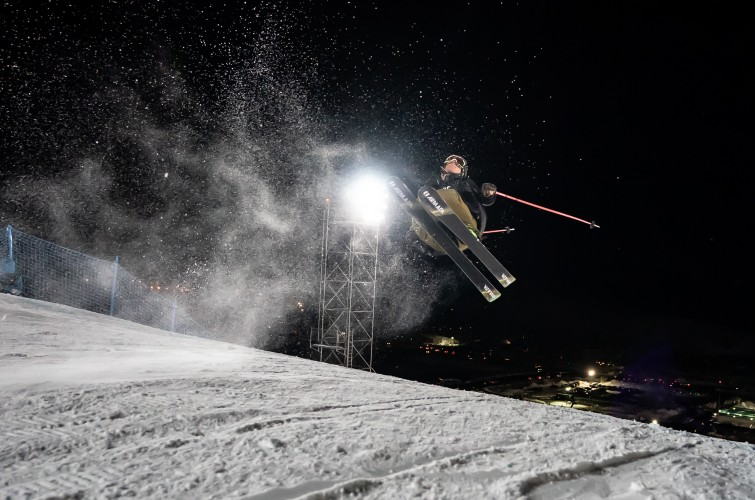 Images from the 2020 Winter X Games Ski Knuckle Huck in Aspen, Colorado