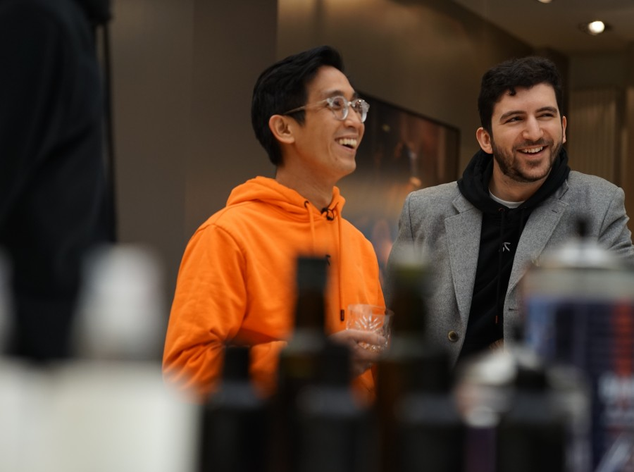 Photos of YamatoCannon provided by Fnatic for our interview with him.