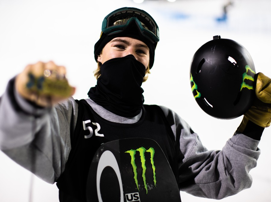 Image assets from Day 1 from the Snowboard Knuckle Huck on 2021 X Games Aspen Colorado.