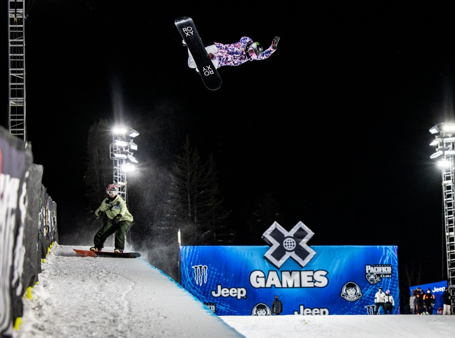 Images from monster athletes practicing for the 2021 X Games Aspen, Colorado.