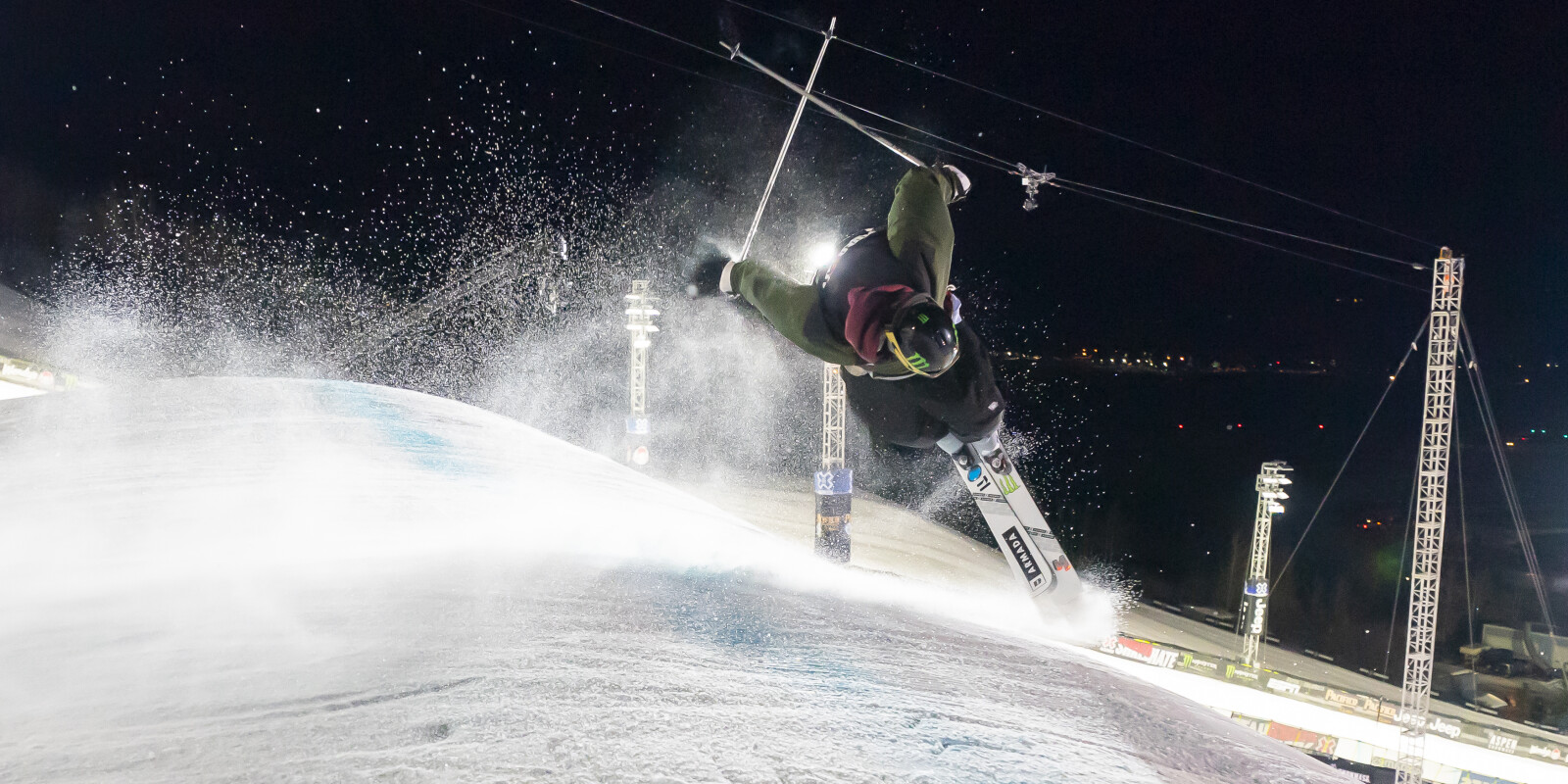 Ski images from day 3 X Games, Aspen Colorado