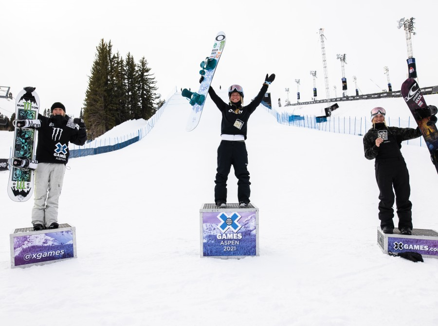Image assets from Day 1 on 2021 X Games Aspen Colorado.