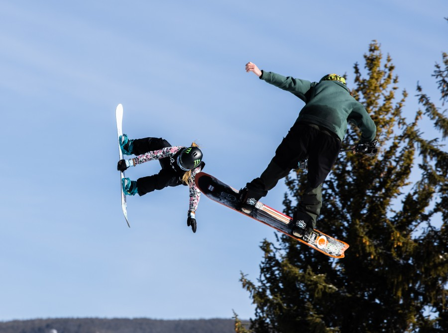 Image assets from Day 3 from Womens Big Air on 2021 X Games Aspen Colorado.