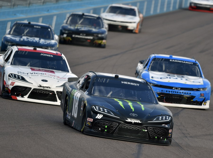 Images from the Xfinity Series race Desert Diamond Casino West Valley 200 in Phoenix, AZ.