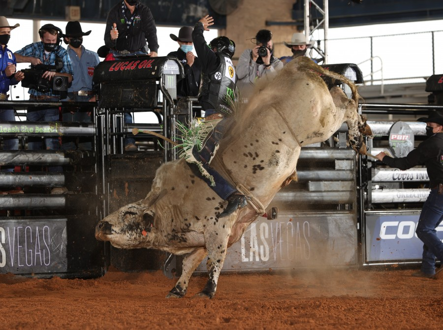 Images of Marco Antonio Eguchi at PBR COORS BANQUET INVITATIONAL in Okeechobee, FL.