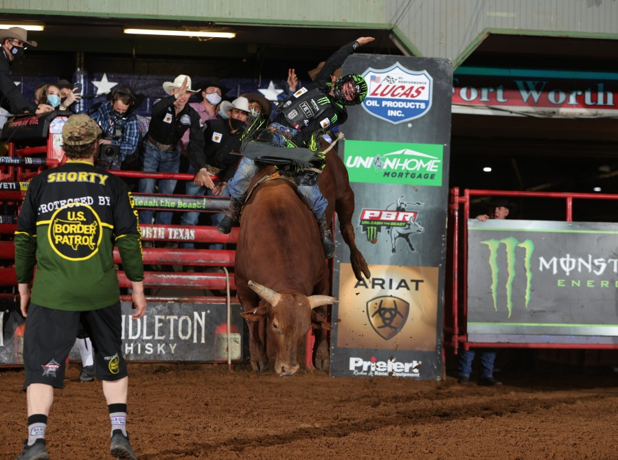 Images of  Jose Vitor Leme from Fort Worth Unleash The Beast PBR.