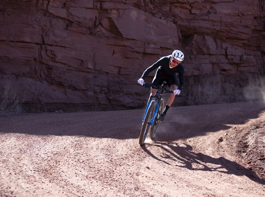 Selects of Hydro athlete Keegan Swenson in Utah for the White Rim record