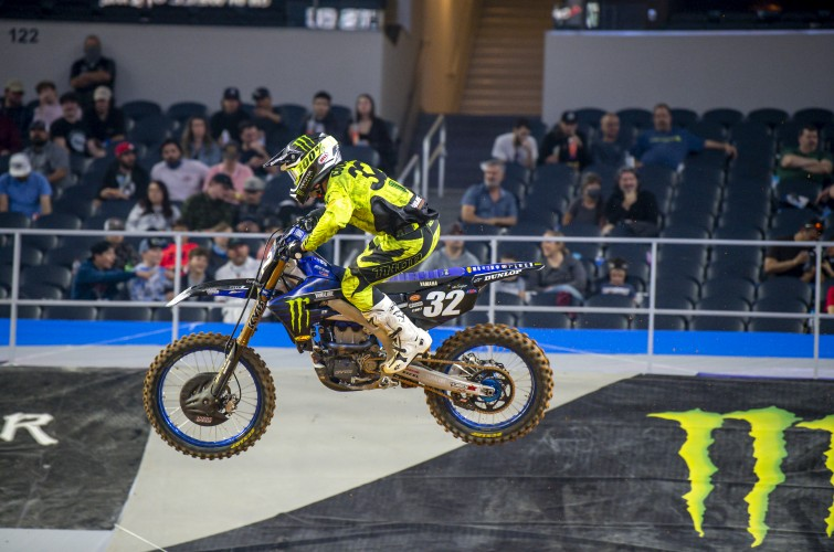 Images from Round 1 of the Supercross Event in Arlington, Texas