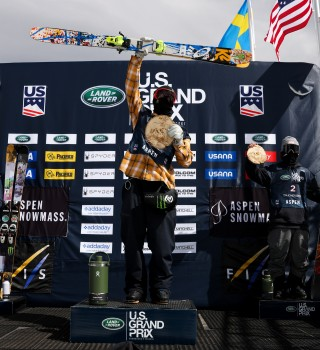 Images from the US Grand Prix Slopestyle & Superpipe