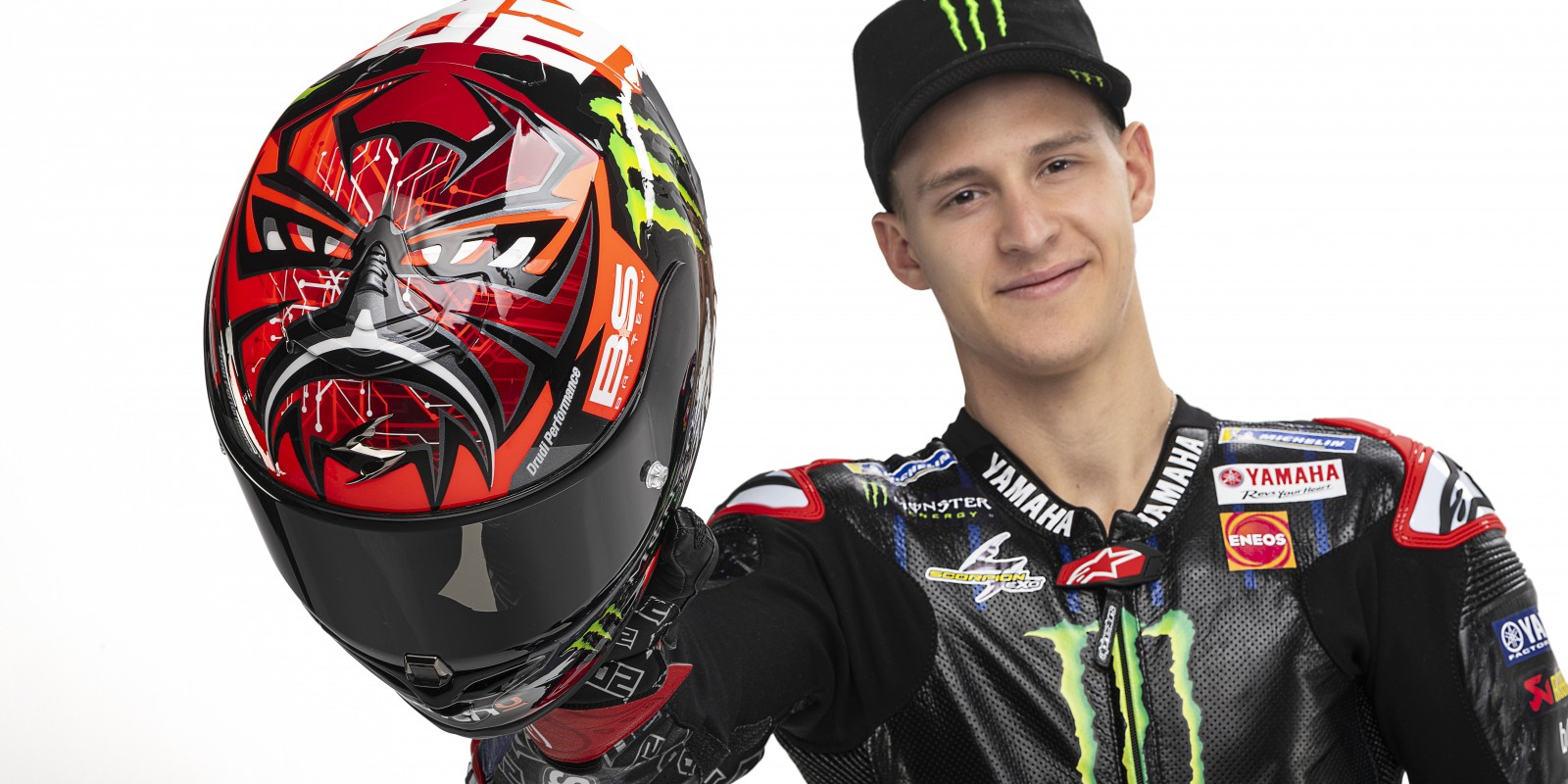 Launch images from the 2021 Factory Yamaha MotoGP Team