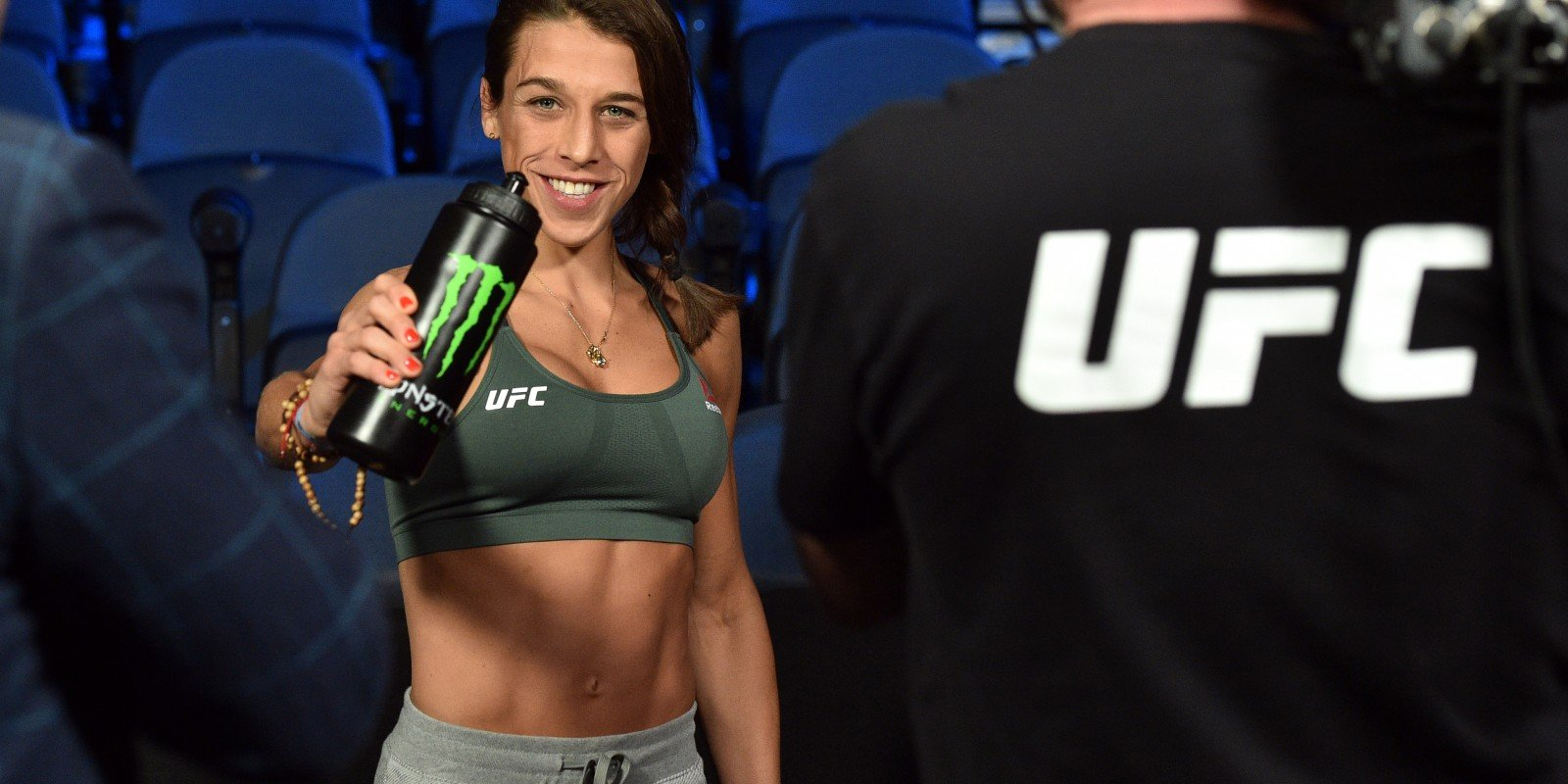 Images from the 2020 UFC 248 Fight in Las Vegas, Nevada