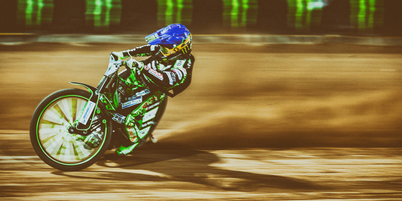 Images from the rearranged 2020 Speedway Grand Prix rounds from Wroclaw, Poland