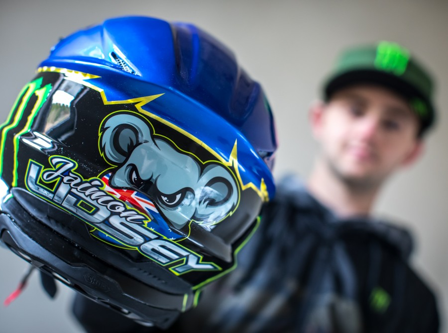 Portrait imagery of Tai Woffinden, Freddie Lindgren, Jaimon Lidsey and Pawel Przedpelski ahead of the 2021 Speedway season