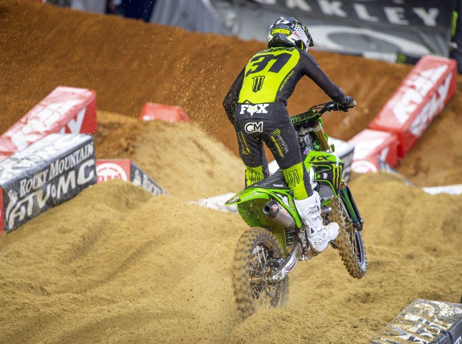 Images from Round 3 of the Supercross Event in Arlington, Texas
