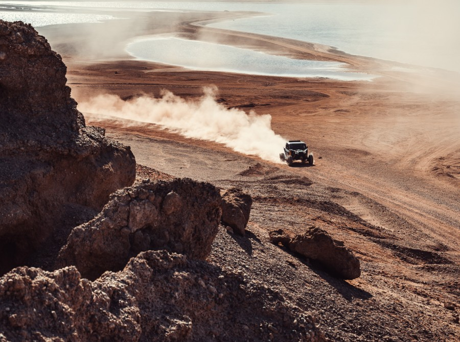Images from the stage 10 of the 2021 Dakar