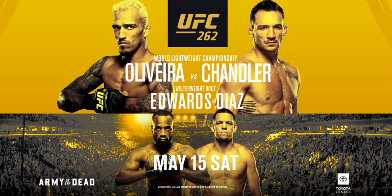 UFC 262 Oliveira Vs Chandler