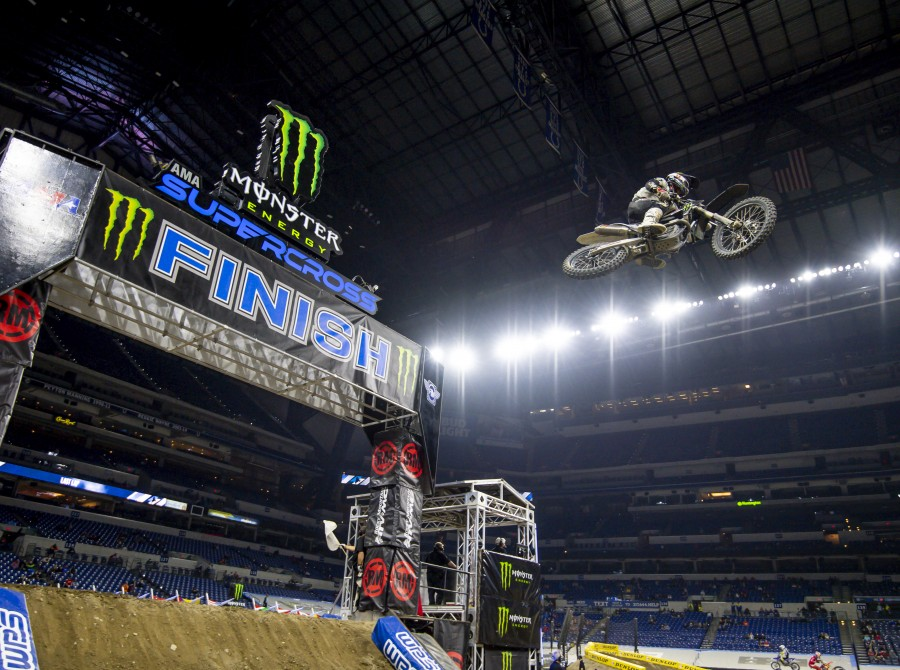 Images from the 2021 Indianapolis 2 Supercross.