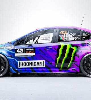 KEN BLOCK ANNOUNCES HIS SCHEDULE FOR A WILD YEAR:  STAGE RALLY IN A SUBARU.  SAFARI RALLY IN AFRICA IN A PORSCHE.