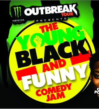 Monster Energy Outbreak Tour: Young Black And Funny Comedy Tour assets