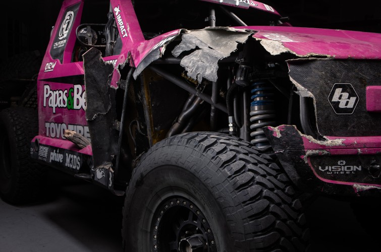 Alan Ampudia Article Photos for Monster Energy Damage Report web series