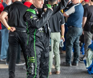 JWP & Cam Waters at V8 Supercar Ride Day Ipswich Australia