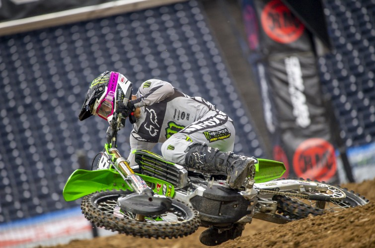 images from SX round 3 in Houston, Texas