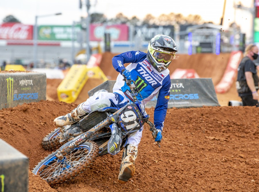 Images from Atlanta 3 Supercross.
