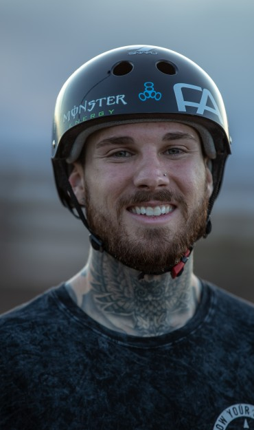 Jeremy Malott social assets transition from Monster Army to Monster athlete.