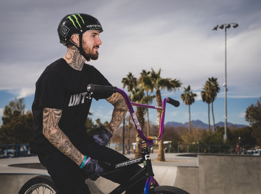 Photos of Monster Army rider Jeremy Malott - who received the bump to the Monster Energy team for 2021