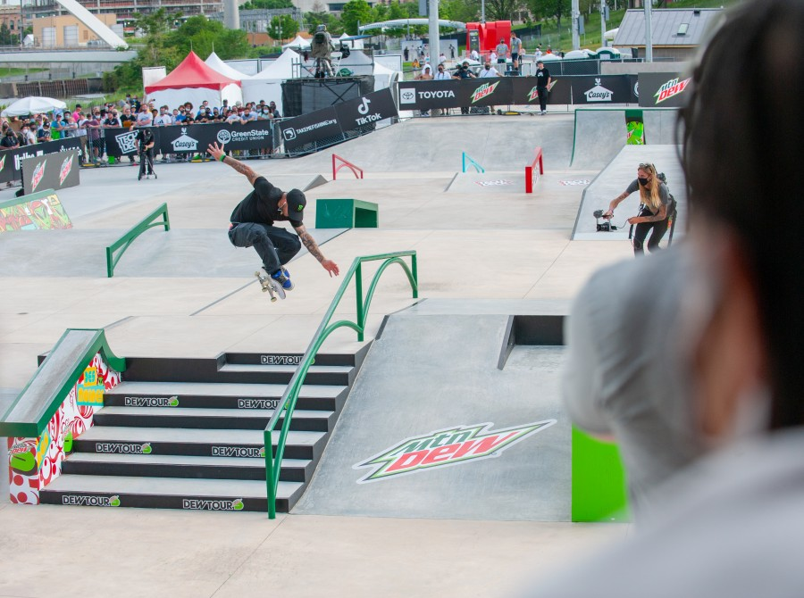 Images from Dew Tour Skate Event.